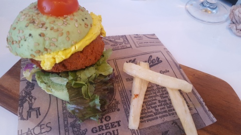 Hamburguesa vegana (especial)