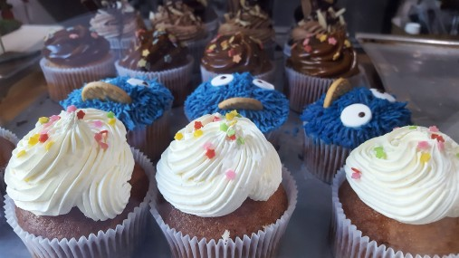 Cupcakes y muffins.