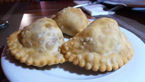 Empanadillas criollas.